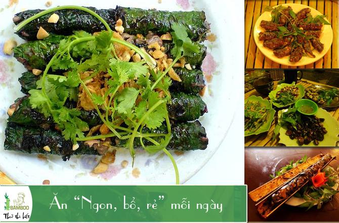 Quán ăn ngon mang hương vị núi rừng Tây Nguyên