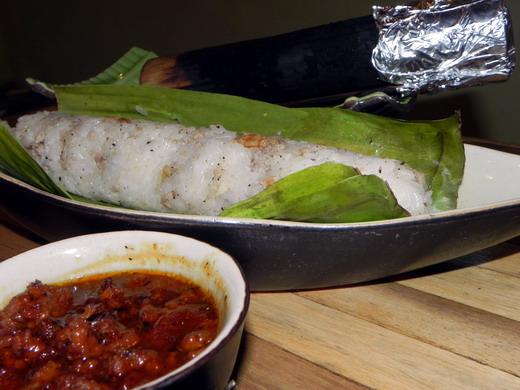Cơm Lam mùi vị thơm ngon đặc trưng - Bamboo quán